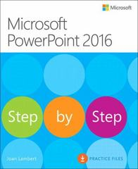 Microsoft PowerPoint 2016 Step by Step 1st Edition 9780735697799 0735697795