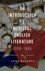 An Introduction to Medieval English Literature 1st Edition 9780230250376 0230250378