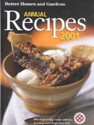Better Homes & Gardens Annual Recipes 2001 0 9780696213397 0696213397