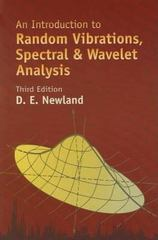 An Introduction to Random Vibrations, Spectral and Wavelet Analysis 3rd edition 9780486442747 0486442748