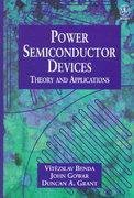 Discrete and Integrated Power Semiconductor Devices 1st edition 9780471976448 047197644X