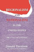 Regionalism and Nationalism in the United States 0 9780887383724 0887383726