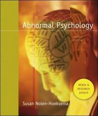 Abnormal Psychology 4th edition 9780073382586 0073382582