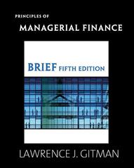 Principles of Managerial Finance, Brief 5th edition 9780321524126 0321524128