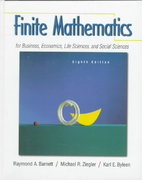 Finite Mathematics for Business, Economics, Life Sciences and Social Sciences 8th edition 9780139131790 0139131795