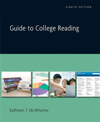 Guide to College Reading 8th Edition 9780205604975 0205604978