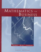 Mathematics for Business 6th edition 9780321015983 0321015983