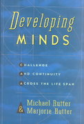 Developing Minds 0 9780465010370 0465010377