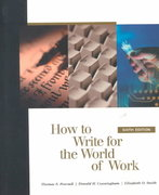 How to Write for the World of Work 6th edition 9780155079038 0155079034