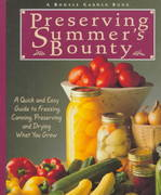 Preserving Summer's Bounty 1st Edition 9780875969794 0875969798