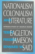 Nationalism, Colonialism, and Literature 0 9780816618637 0816618631