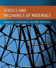 Statics and Mechanics of Materials 1st Edition 9780073380155 0073380156