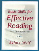 Basic Skills for Effective Reading 4th edition 9780135338520 0135338522