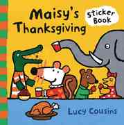 Maisy's Thanksgiving Sticker Book 0 9780763630485 0763630489