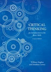 Critical Thinking 1st Edition 9781554812677 1554812674