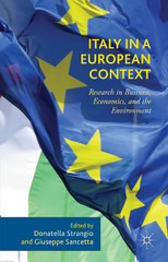 Italy in a European Context 1st Edition 9781137560766 1137560762