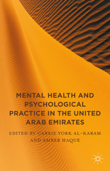 Mental Health and Psychological Practice in the United Arab Emirates 1st Edition 9781137567529 113756752X
