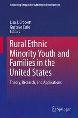 Rural Ethnic Minority Youth and Families in the United States 1st Edition 9783319209753 3319209752