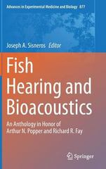 Fish Hearing and Bioacoustics 1st Edition 9783319210599 3319210599
