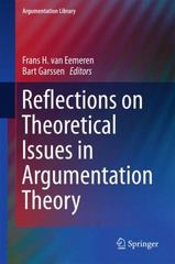 Reflections on Theoretical Issues in Argumentation Theory 1st Edition 9783319211039 331921103X