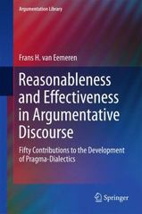 Reasonableness and Effectiveness in Argumentative Discourse 1st Edition 9783319209548 331920954X