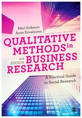 Qualitative Methods in Business Research 2nd Edition 9781446273388 1446273385