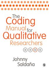 The Coding Manual for Qualitative Researchers 3rd Edition 9781473902480 1473902487