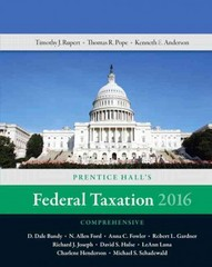 Prentice Hall's Federal Taxation 2016 Comprehensive Plus MyAccountingLab with Pearson eText -- Access Card Package 29th Edition 9780134206424 0134206428