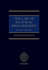 The Law of EU Public Procurement 2nd Edition 9780191507564 0191507563