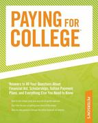 Paying for College 0 9780768927146 0768927145