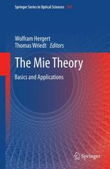 The Mie Theory 1st Edition 9783642436147 3642436145