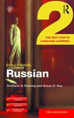 Colloquial Russian 2 1st Edition 9781138960190 1138960195
