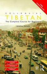 Colloquial Tibetan 1st Edition 9781317305804 1317305809