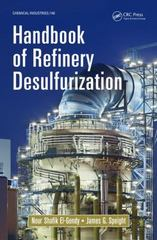 Handbook of Refinery Desulfurization 1st Edition 9781466596719 1466596716
