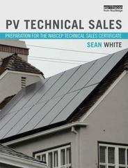 PV Technical Sales 1st Edition 9781317671336 1317671333