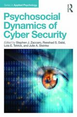 Psychosocial Dynamics of Cyber Security 1st Edition 9781848725669 1848725663