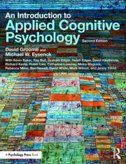 An Introduction to Applied Cognitive Psychology 2nd Edition 9781317556527 1317556526