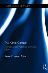 The Act in Context 1st Edition 9781317594277 1317594274