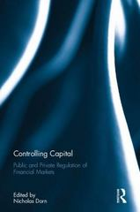 Controlling Capital 1st Edition 9781138943124 1138943126
