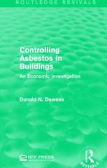 Controlling Asbestos in Buildings 1st Edition 9781138961012 1138961019
