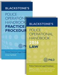 Blackstone's Police Operational Handbook 2016: Law & Practice and Procedure Pack 20th Edition 9780198743392 0198743394