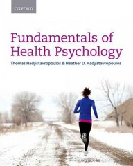 Fundamentals of Health Psychology 1st Edition 9780199002757 0199002754