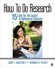 How To Do Research 1st Edition 9781483385112 1483385116