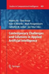 Contemporary Challenges and Solutions in Applied Artificial Intelligence 1st Edition 9783319032757 3319032755