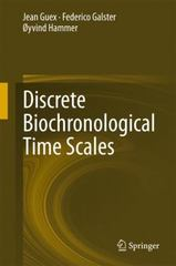 Discrete Biochronological Time Scales 1st Edition 9783319213262 3319213261