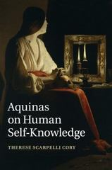 Aquinas on Human Self-Knowledge 1st Edition 9781316502334 1316502333