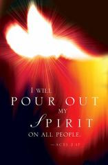 I Will Pour Out Pentecost Bulletin 2016 (Pkg Of 50) 1st Edition 9781501802621 1501802623