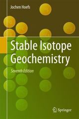 Stable Isotope Geochemistry 7th Edition 9783319197159 3319197150