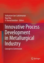 Innovative Process Development in Metallurgical Industry 1st Edition 9783319215990 331921599X