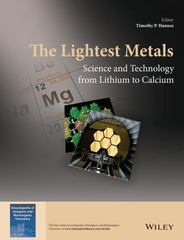 The Lightest Metals 1st Edition 9781118703281 1118703286